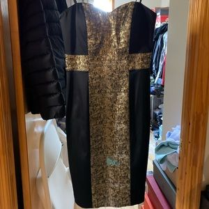 NWT bcbg cocktail dress size s